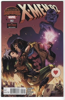 Picture of X-MEN 92 #2 SECRET WARS 2015 PEPE LARRAZ GAMBIT ROGUE