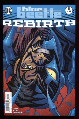 Picture of BLUE BEETLE REBIRTH (2016) #1 NM