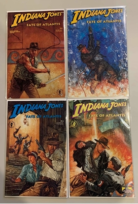 Picture of INDIANA JONES: FATE OF ATLANTIS (1984) #1-4 SET VF/NM