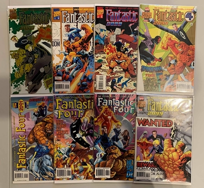 Picture of FANTASTIC FOUR 2099 (1996) 1-8 COMPLETE SET VF/NM