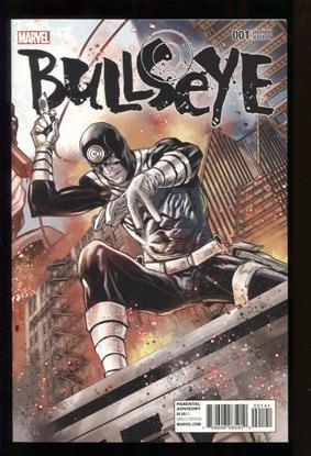 Picture of BULLSEYE #1 (OF 5) VAR ED