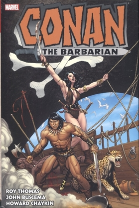 Picture of CONAN BARBARIAN ORIGINAL MARVEL YEARS OMNIBUS HC VOL 3