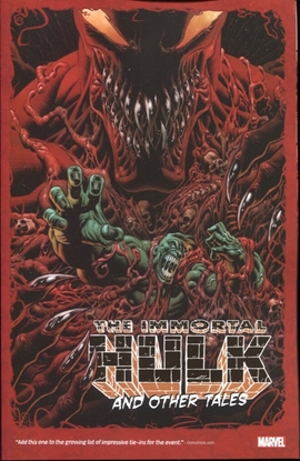 Picture of ABSOLUTE CARNAGE IMMORTAL HULK & OTHER TALES TP
