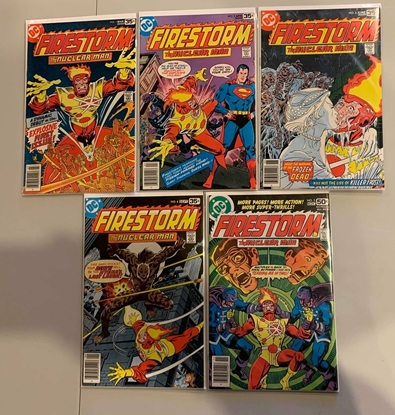 Picture of FIRESTORM (1978) #1-5 SET