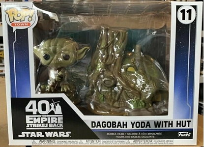Picture of FUNKO POP! TOWN DAGOBAH YODA W/ HUT #11 NEW VINYL FIGURE