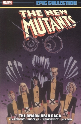 Picture of NEW MUTANTS EPIC COLLECTION TP DEMON BEAR SAGA DM VARIANT NEW PTG