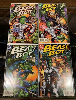 Picture of BEAST BOY (2000) #1-4 SET NM-