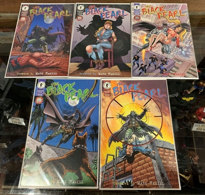 Picture of BLACK PEARL (1996) #1-5 SET VF/NM