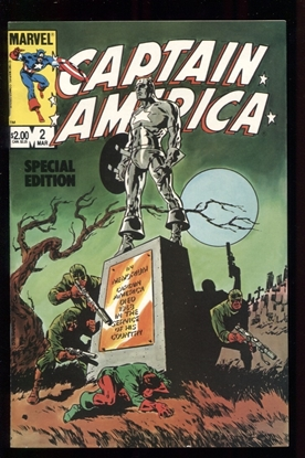 Picture of CAPTAIN AMERICA SPECIAL EDITION (1984) #2 9.4 NM