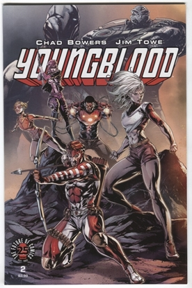 Picture of YOUNGBLOOD #2 CVR C WHITE BOWERS TOWE IMAGE COMICS