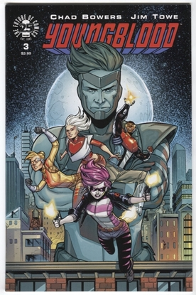 Picture of YOUNGBLOOD #3 CVR A TOWE BOWERS IMAGE COMICS