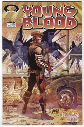 Picture of YOUNGBLOOD #6 CVR C WALKING DEAD #1 TRIBUTE VARIANT