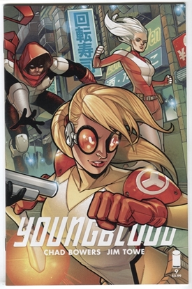 Picture of YOUNGBLOOD #9 CVR A TOWE BOWERS IMAGE COMICS