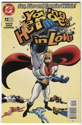 Picture of YOUNG HEROES IN LOVE (1997) #12 9.2 NM- RASPLER MADAN CHAMPAGNE