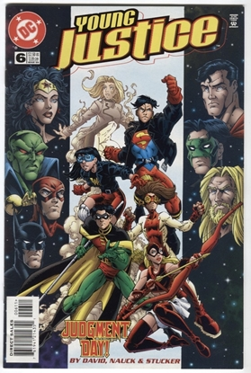 Picture of YOUNG JUSTICE (1998) #6 9.4 NM DAVID NAUCK STUCKER