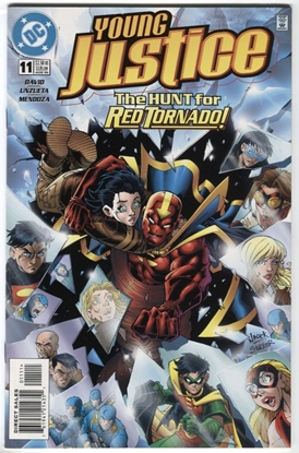 Picture of YOUNG JUSTICE (1998) #11 9.4 NM DC DAVID UNZUETA MENDOZA