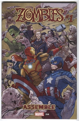 Picture of ZOMBIES ASSEMBLE #1 (OF 4)
