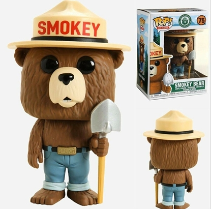 Picture of FUNKO POP AD ICONS SMOKEY BEAR #75 NEW VINYL FIGURE