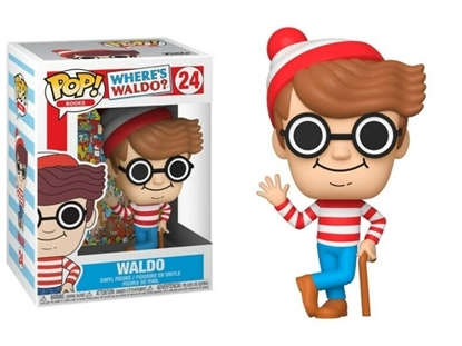 Picture of FUNKO POP BOOKS WHERE'S WALDO WALDO #24 NEW VINYL FIGURE