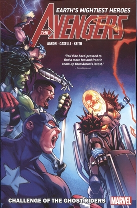 Picture of AVENGERS BY JASON AARON TP VOL 05 CHALLENGE OF GHOST RIDERS