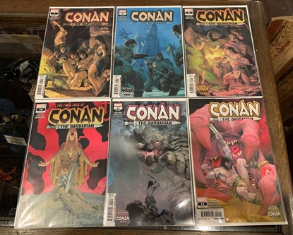 Picture of CONAN THE BARBARIAN (2019) #7-12 1ST PRINT SET NM