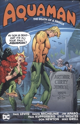Picture of AQUAMAN DEATH OF A PRINCE DLX ED HC
