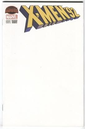 Picture of X-MEN 92 #1 BLANK SKETCH VARIANT SECRET WARS