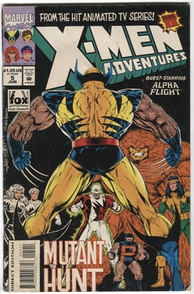 Picture of X-MEN ADVENTURES (1992) #5 4.0 VG