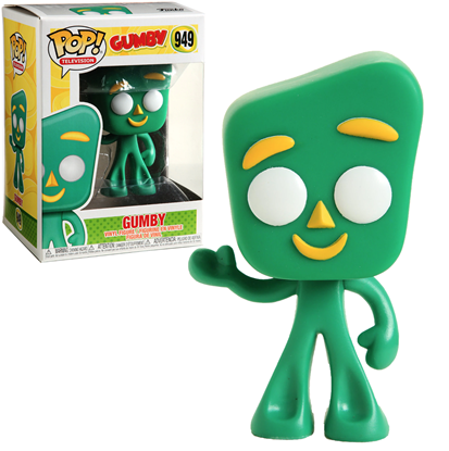 Picture of FUNKO POP TELEVISION GUMBY #949 NEW VINYL FIGURE