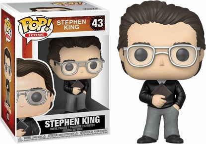 Picture of FUNKO POP AD ICONS STEPHEN KING #43 NEW VINYL FIGURE