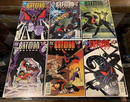 Picture of BATMAN BEYOND (1999) #1-6 1ST PRINT SET NM-