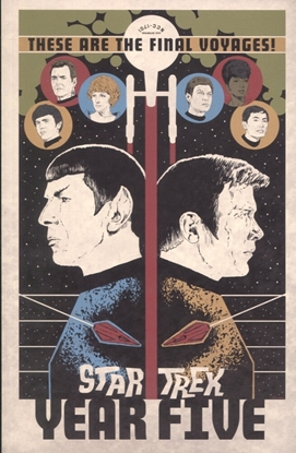 Picture of STAR TREK YEAR FIVE TP VOL 01 ODYSSEYS END
