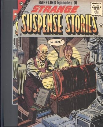Picture of PRE CODE CLASSICS STRANGE SUSPENSE STORIES SLIPCASE VOL 03