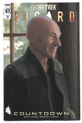 Picture of STAR TREK PICARD #3  CVR RI 1:10 PHOTO COVER VARIANT NM