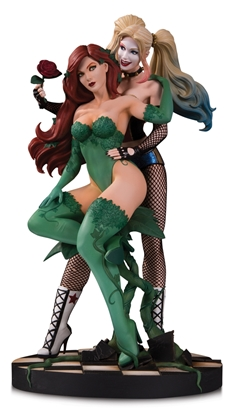 Picture of DC DESIGNER SER HARLEY & POISON IVY BY LUPPACHINO STATUE