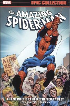 Picture of AMAZING SPIDER-MAN EPIC COLLECTION TP SECRET OF PETRIFIED TABLET