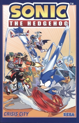 Picture of SONIC THE HEDGEHOG TP VOL 05 CRISIS CITY