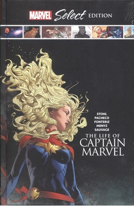 Picture of LIFE OF CAPTAIN MARVEL MARVEL SELECT HC