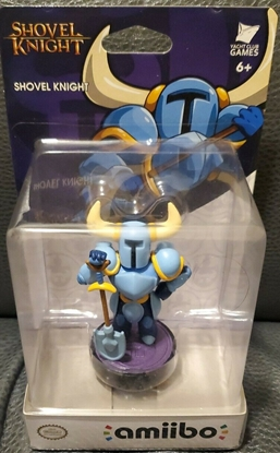 Picture of NINTENDO AMIIBO BLUE SHOVEL KNIGHT NEW
