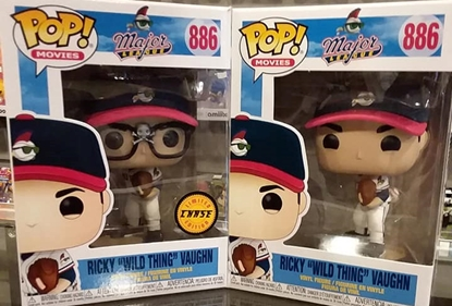 "Picture of FUNKO POP MOVIES MAJOR LEAGUE RICKY ""WILD THING"" VAUGHN SET W/ CHASE NEW"