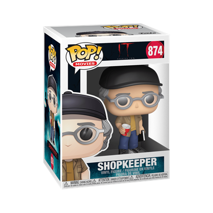 Picture of FUNKO POP MOVIES IT CHAPTER 2 SHOPKEEPER STEPHEN KING #874 NEW