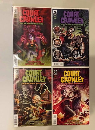 Picture of COUNT CROWLEY RELUCTANT MONSTER HUNTER #1-4 1ST PRINT SET