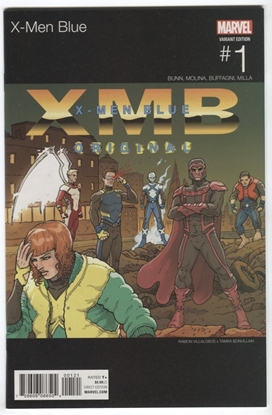 Picture of X-MEN BLUE #1 HIP HOP VARIANT