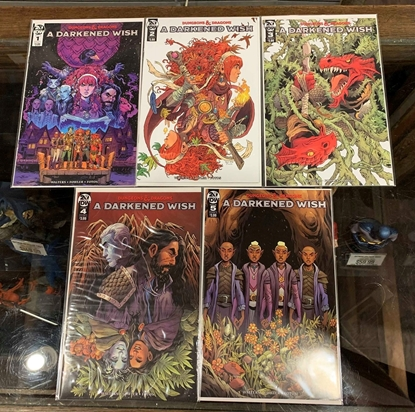 Picture of DUNGEONS & DRAGONS A DARKENED WISH #1-5  CVR A FOWLER SET NM