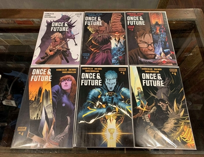 Picture of ONCE & FUTURE (2019) #1-6 MIXED COVER SET 1ST & 6TH PRINT NM