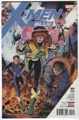 Picture of X-MEN BLUE #1 ART ADAMS 2ND PRINTING VARIANT
