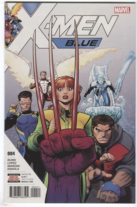 Picture of X-MEN BLUE #4