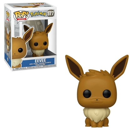 Picture of FUNKO POP GAMES POKEMON EEVEE #577 NEW VINYL FIGURE