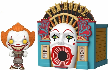 Picture of FUNKO POP! TOWN IT CHAPTER 2 DEMONIC PENNYWISE & FUNHOUSE #10 NEW