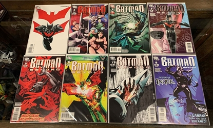 Picture of BATMAN BEYOND (2011) #1-8 SET VF/NM